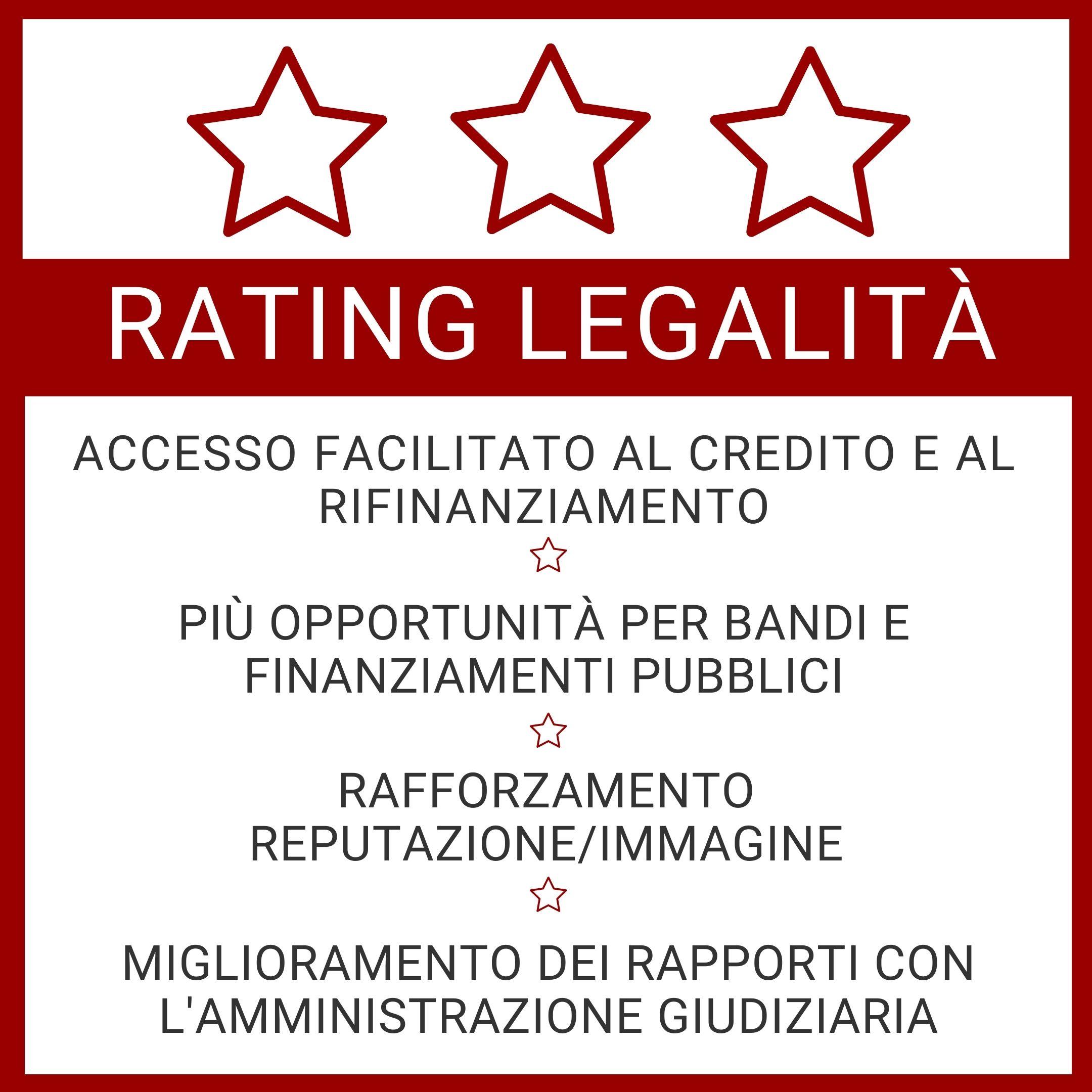 RATING DI LEGALITÀ, OPPORTUNITÀ PER LE AZIENDE DEL SETTORE PETROLIFERO/ENERGETICO